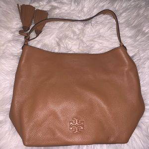 NWOT Tory Burch leather tassel hobo purse